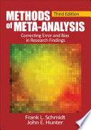 Methods of Meta Analysis