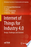 Internet Of Things For Industry 4 0