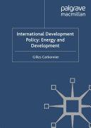 International Development Policy  Energy and Development