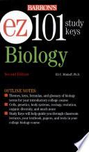 Ez 101 Biology 2nd Ed  book