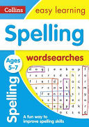 Spelling Word Searches Ages 5 7