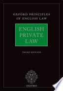English Private Law