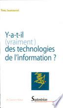 illustration Y a-t-il (vraiment) des technologies de l'information ?