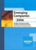 Hoover s Handbook of Emerging Companies 2006