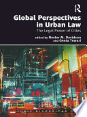 Global Perspectives In Urban Law
