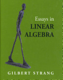Essays in Linear Algebra