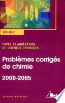 CAPES externe 2000 2005 Agr  gatioin de physique 2000 2005