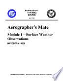 Manuals Combined U S Navy Aerographer S Mate Modules 1 4