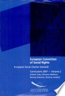 European Social Charter  revised   Irland  Italy  Lithuania  Moldova  Norway  Romania  Slovenia  Sweden