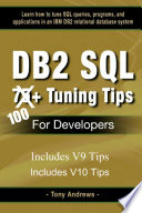 Db2 Sql 75  Tuning Tips for Developers