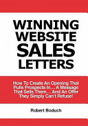 Winning Website Sales Letters