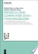 Mensch und Computer 2014 – Tagungsband