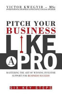 Pitch Your Business Like a Pro