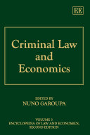 Criminal Law and Economics