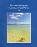European Portuguese Student Activities Manual For Ponto De Encontro
