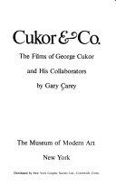 Cukor Co book