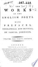 The Poems of Parnell and A  Philips