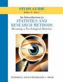 An Introduction To Statistics And Research Methods