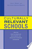 Culturally Relevant Schools