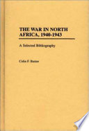 The War in North Africa  1940 1943