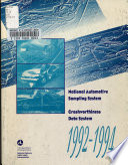 National Automotive Sampling System Crashworthiness Data System