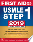 First Aid for the USMLE Step 1 2019  Twenty ninth edition