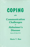 Coping with Communication Challenges in Alzheimer s Disease Book PDF