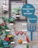 illustration Le semainier du potager - Janvier
