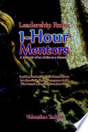 Leadership Rubs  1 Hour Mentors  A Memoir of an Artist as a Masseur