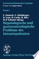 Hepatologische und gastroenterologische Probleme des Intensivpatienten