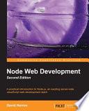 Node Web Development  Second Edition