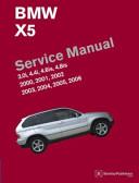 BMW X5 Service Manual