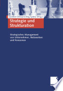 Strategie und Strukturation
