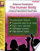 Science Vocabulary  The Human Body