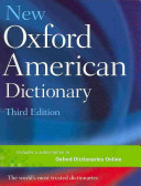 New Oxford American Dictionary, Third Edition