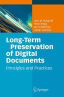 download ebook long-term preservation of digital documents pdf epub