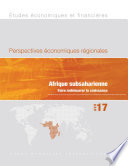 Regional Economic Outlook, April 2017, Sub-Saharan Africa