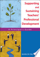 Supporting and Sustaining Teachers  Professional Development