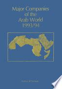 Major Companies of the Arab World 1993 94