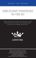 ADR Client Strategies in the EU
