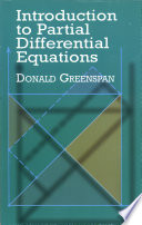 Introduction to Partial Differential Equations