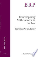 Contemporary Artificial Art And The Law