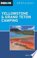 Moon Spotlight Yellowstone   Grand Teton Camping