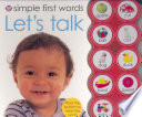 Simple First Words Let s Talk