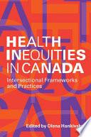 Health Inequities in Canada