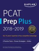 PCAT Prep Plus 2018 2019