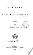 Macbeth  erkl  rt von W  Wagner