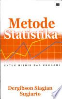 Metode statistika untuk bisnis dan ekonomi