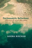 Psychoanalytic Reflections