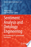 Sentiment Analysis And Ontology Engineering book